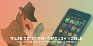 Really False Detection Through Mobile Phones