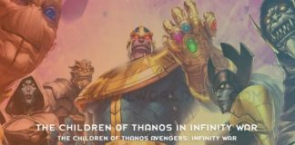 The Children Of Thanos Avengers Infinity War