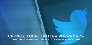 Twitter Advising All Users To Change Passwords