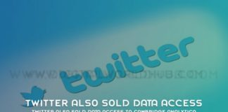 Twitter Also Sold Data Access To Cambridge Analytica