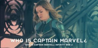 Who is Captain Marvel Infinity War 2