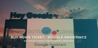 You Can Buy A Movie Ticket By Google Assistance