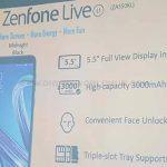 Zenfone Live L1 2 1