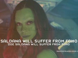 Zoe Saldana Will Suffer From FOMO