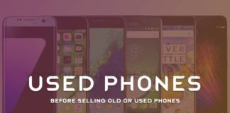Before Selling Old Or Used Phones