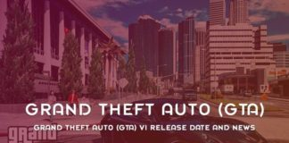 Grand Theft Auto GTA VI Release Date And News