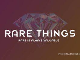 Rare Things