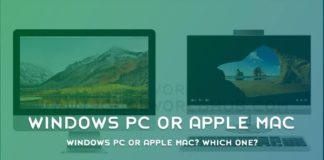 Windows PC Or Apple Mac Which One