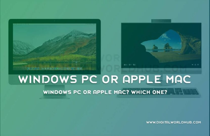 windows pc or apple mac dwh 1