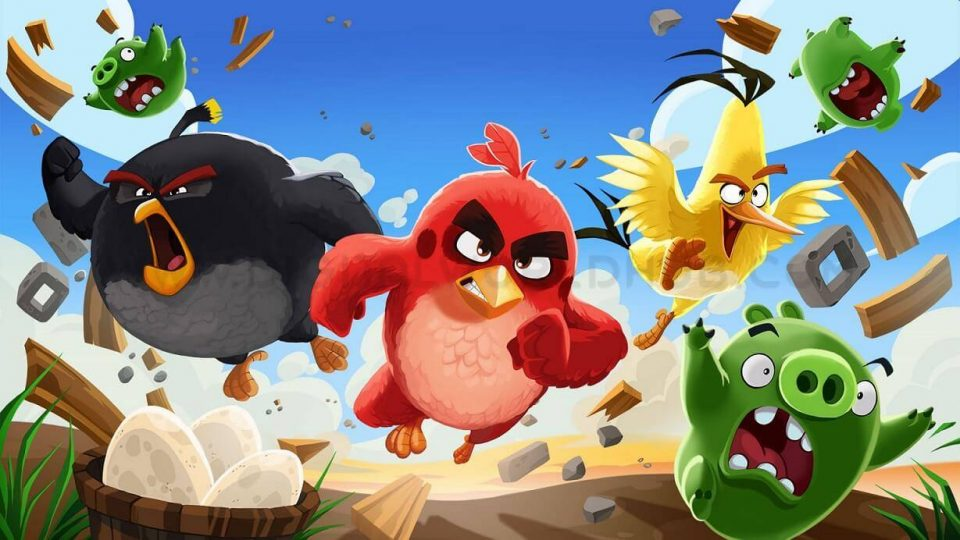 Angry birds DWH