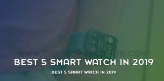 Best 5 Smart Watch In 2019