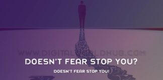 Doesnt Fear Stop You