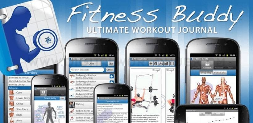 Fitness Buddy 300 plus Exercises DWH