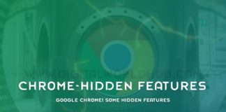 Google Chrome Some Hidden Features