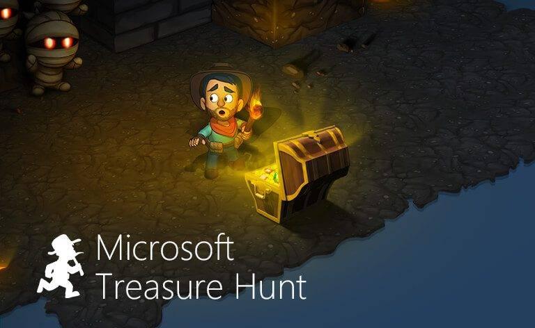 Microsoft Treasure Hunt DWH 1