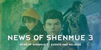 News Of Shenmue 3 Events And Release