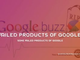 Some Failed Products Of Google