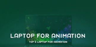 Top 5 Laptop For Animation