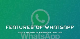 Useful Features Of WhatsApp In Daily Life