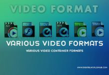 Various-Video-Container-Formats
