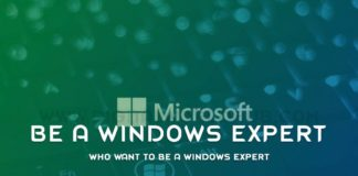 Who Want To Be A Windows Expert