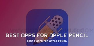 Best-5-Apps-For-Apple-Pencil