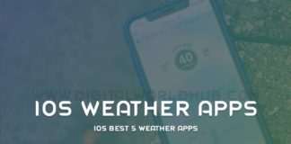 iOS-Best-5-Weather-Apps
